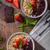 aardbeien · grijs · kom · vers · geïsoleerd - stockfoto © peteer