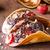 casero · tacos · helado · nueces · chocolate · delicioso - foto stock © Peteer