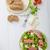 geitenkaas · tomaat · vegetarisch · feta · tomaten · mozzarella - stockfoto © peteer