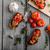 bruschetta with tomatoes garlic and herbs stock photo © peteer