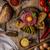 carne · toast · pane · aglio · parmigiano · cena - foto d'archivio © peteer