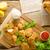 куриные · соус · жареный · продовольствие · фон · мяса - Сток-фото © peteer