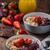 çikolata · yoğurt · yaban · mersini · besleyici · sağlıklı · kahvaltı - stok fotoğraf © peteer