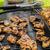 teriyaki · tyúk · szárnyak · fokhagymás · kenyér · gyógynövények · étel - stock fotó © Peteer