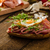 rustico · pane · salame · alimentare · erbe - foto d'archivio © peteer