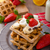 チョコレート · チップ · 果物 · バナナ · イチゴ · ミルク - ストックフォト © peteer