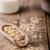 ruw · kom · houten · tafel · top - stockfoto © peteer