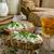 ev · yapımı · ekmek · taze · peynir · sarımsak · tablo - stok fotoğraf © Peteer