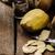 hámozott · krumpli · kés · egészséges · organikus · fából · készült - stock fotó © peteer