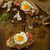 smoked ham sandwich rustic bread stock photo © peteer