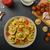ev · yapımı · tortellini · İtalyan · ahşap - stok fotoğraf © peteer