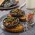 setas · relleno · hortalizas · tomate · mozzarella - foto stock © peteer