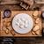 házi · készítésű · forró · csokoládé · vaj · sütik · krém · kéz - stock fotó © Peteer