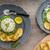 ızgara · camambert · peynir · zeytinyağı · biberiye · tablo - stok fotoğraf © peteer