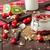 iç · kiraz · yoğurt · şaşkınlık · tohumları · meyve - stok fotoğraf © peteer