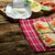 サラダ · レモン · ダイニング · 食事 · 鮭 - ストックフォト © peteer