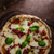 pizza · originale · italiana · buio · foto - foto d'archivio © Peteer