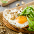 village bread fried eggs stock photo © peteer