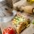 gekruid · kip · biefstuk · saus · gegrild · tomaat - stockfoto © Peteer