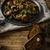 tabela · café · chá · frito · fresco · cogumelos - foto stock © Peteer