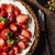 strawberry · cheesecake · taze · çilek · dilimleri · nane · yan - stok fotoğraf © peteer