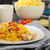 пластина · свежие · спагетти · помидоров · жира - Сток-фото © peteer