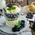vanille · vla · chocolade · dessert · room · geserveerd - stockfoto © peteer