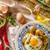 ei · gevuld · spek · mayonaise · eieren · koken - stockfoto © peteer