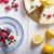 лимона · чизкейк · Ягоды · свежие · плодов · темно - Сток-фото © Peteer
