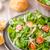 kuzu · marul · salata · yumurta · fındık · üzüm - stok fotoğraf © peteer