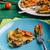 шпинат · чеснока · древесины · совета · готовый · место - Сток-фото © peteer