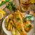 рыбы · чипов · изолированный · продовольствие · газета · фон - Сток-фото © peteer