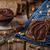 mogyoró · házi · készítésű · forró · csokoládé · csésze · diók · csokoládé · szelet - stock fotó © peteer