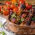 курица-гриль · меда · свежие · травы · чеснока · продовольствие - Сток-фото © Peteer