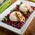 vanille · bos · vruchten · karamel · chips · restaurant - stockfoto © Peteer