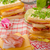 reuben sandwich with cabbage beef and spicy dressing stock photo © peteer