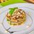 a · la · parrilla · berenjena · tomate · mozzarella · queso · cena - foto stock © peteer