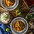 curry · tyúk · tál · beton · textúra · étel - stock fotó © peteer