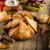 домашний · Начо · деревенский · Burger · американский · бекон - Сток-фото © peteer