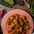 雞 · 翅膀 · 辣椒 · 醬 · 葉 · 綠色 - 商業照片 © peteer