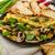 champignons · eigengemaakt · schaal · voedsel · ei · peper - stockfoto © peteer