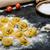 caseiro · macarrão · tortellini · recheado · cogumelos · alho - foto stock © Peteer