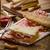 szybki · obiedzie · toast · szynka · ser · panini - zdjęcia stock © Peteer