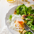 子羊 · レタス · サラダ · 新鮮な · オレンジジュース - ストックフォト © Peteer