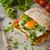 frescos · ensalada · frito · queso · huevo - foto stock © peteer