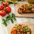 eat clean   vegetarian toast with vegetable stock photo © peteer