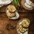 sanduíche · abobrinha · ervas · pão · café · da · manhã · almoço - foto stock © peteer