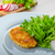 Breaded pork chops in Parmesan cheese stock photo © Peteer