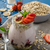 çilek · yoğurt · müsli · eski · ahşap · gıda - stok fotoğraf © peteer