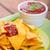 tortilla · cips · baharatlı · domates · salsa · jalapeno - stok fotoğraf © Peteer
